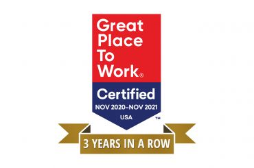 Great Palce To Work 3 Years In A Row