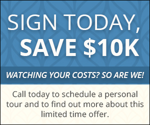 Save $10K over 3 years at Lakewood Ranch while availability lasts.