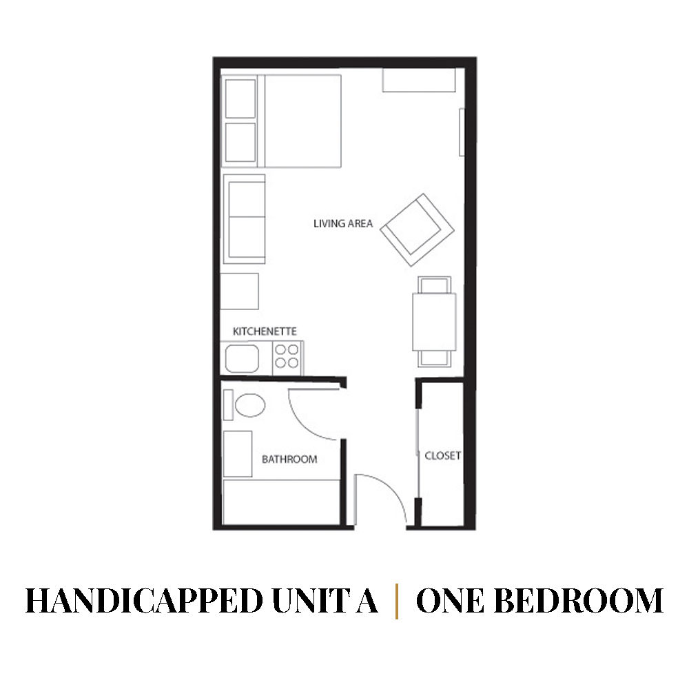 Handicapped | One Bedroom