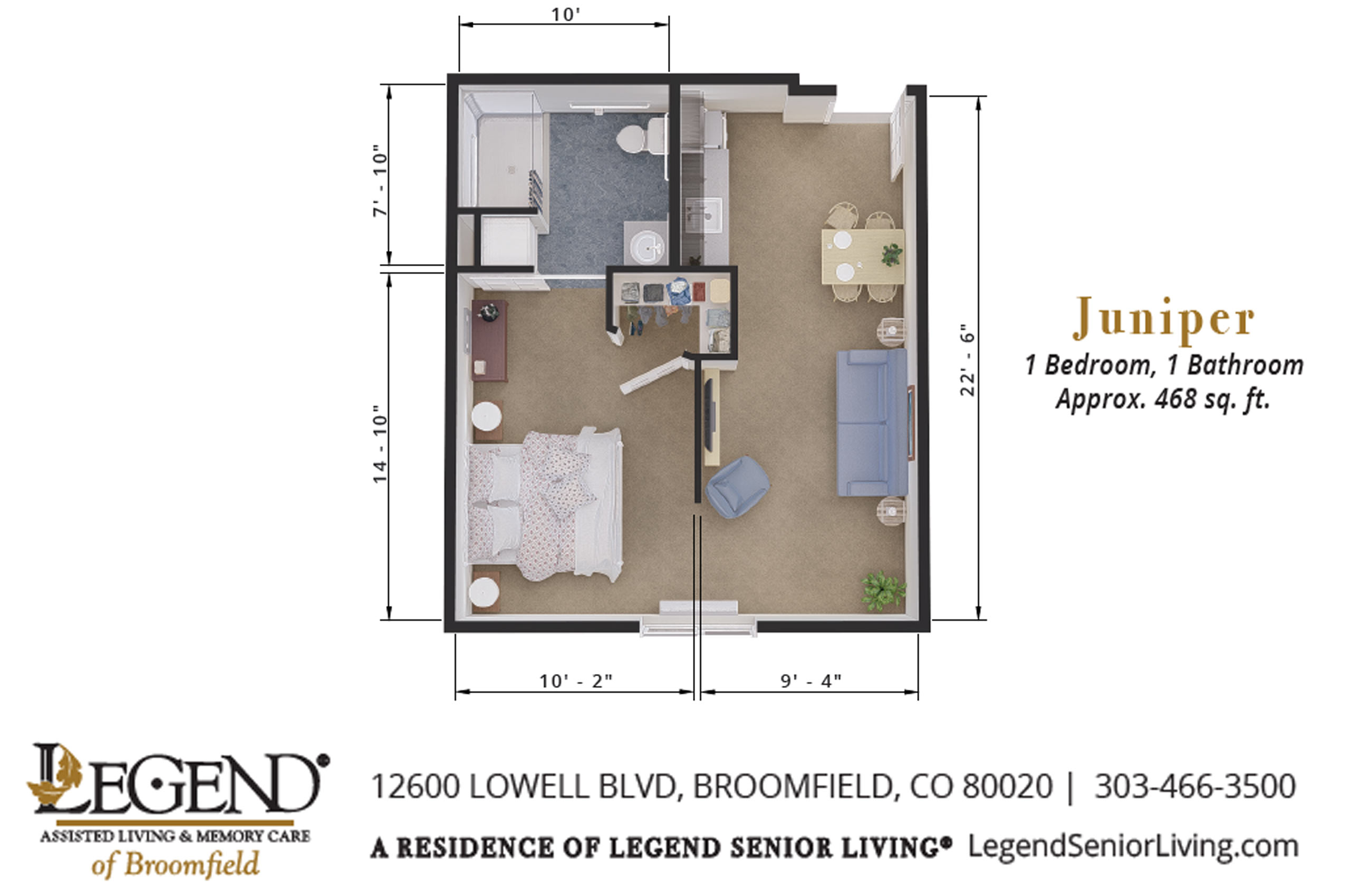 Juniper | One Bedroom