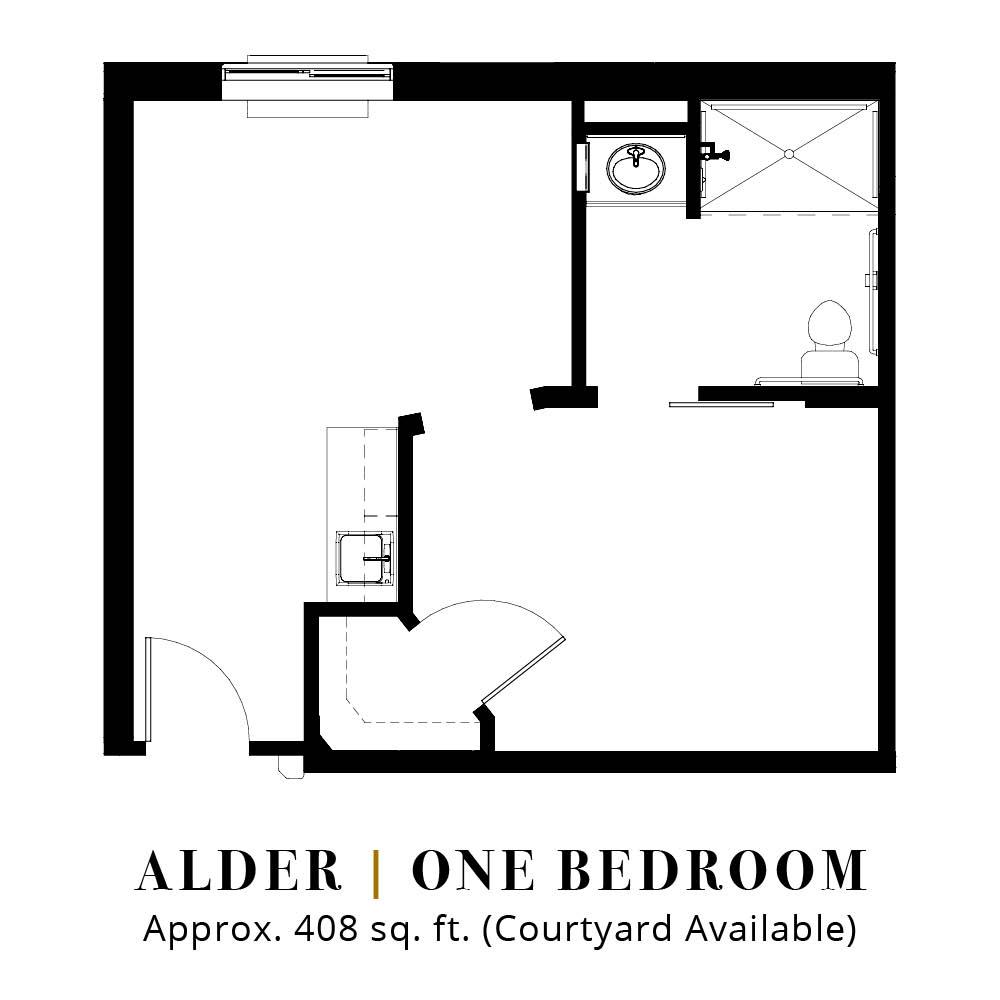 Alder | One Bedroom