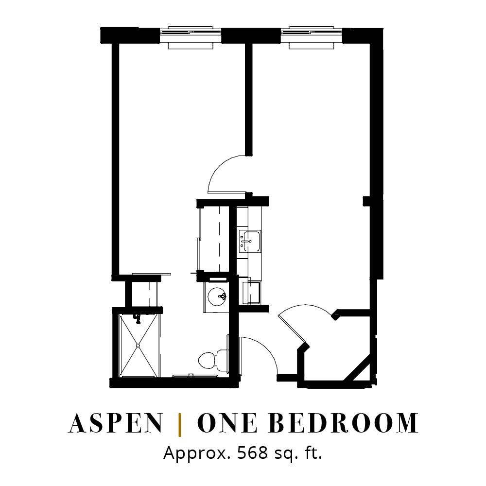 Aspen | One Bedroom