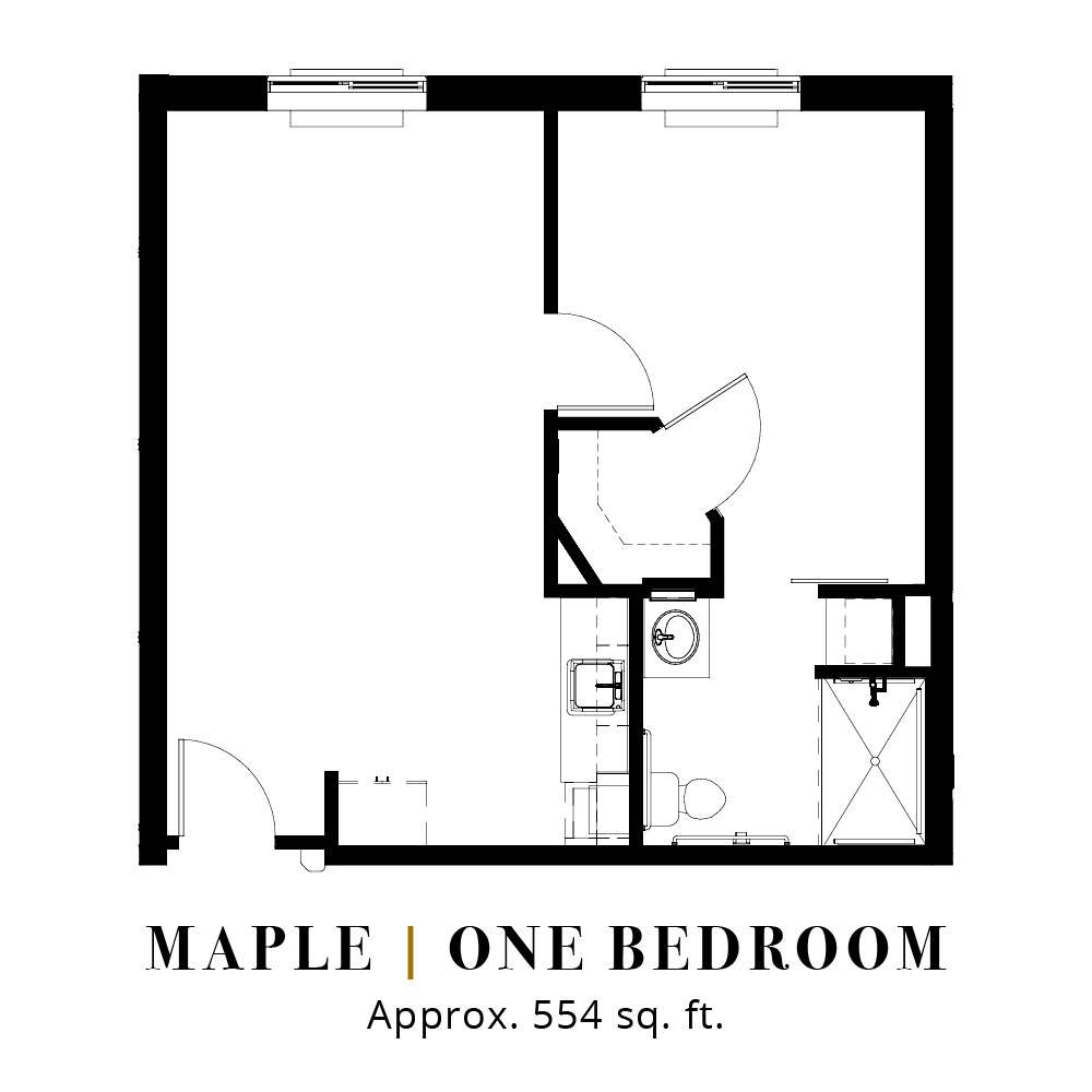 Maple | One Bedroom