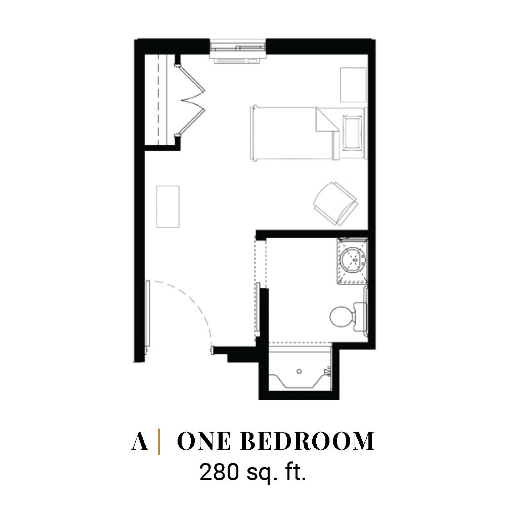A | One Bedroom