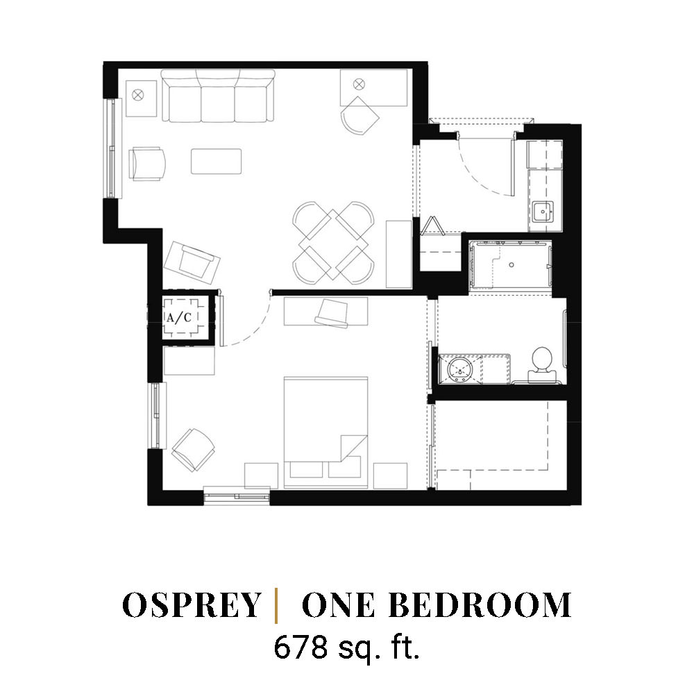 Osprey | One Bedroom