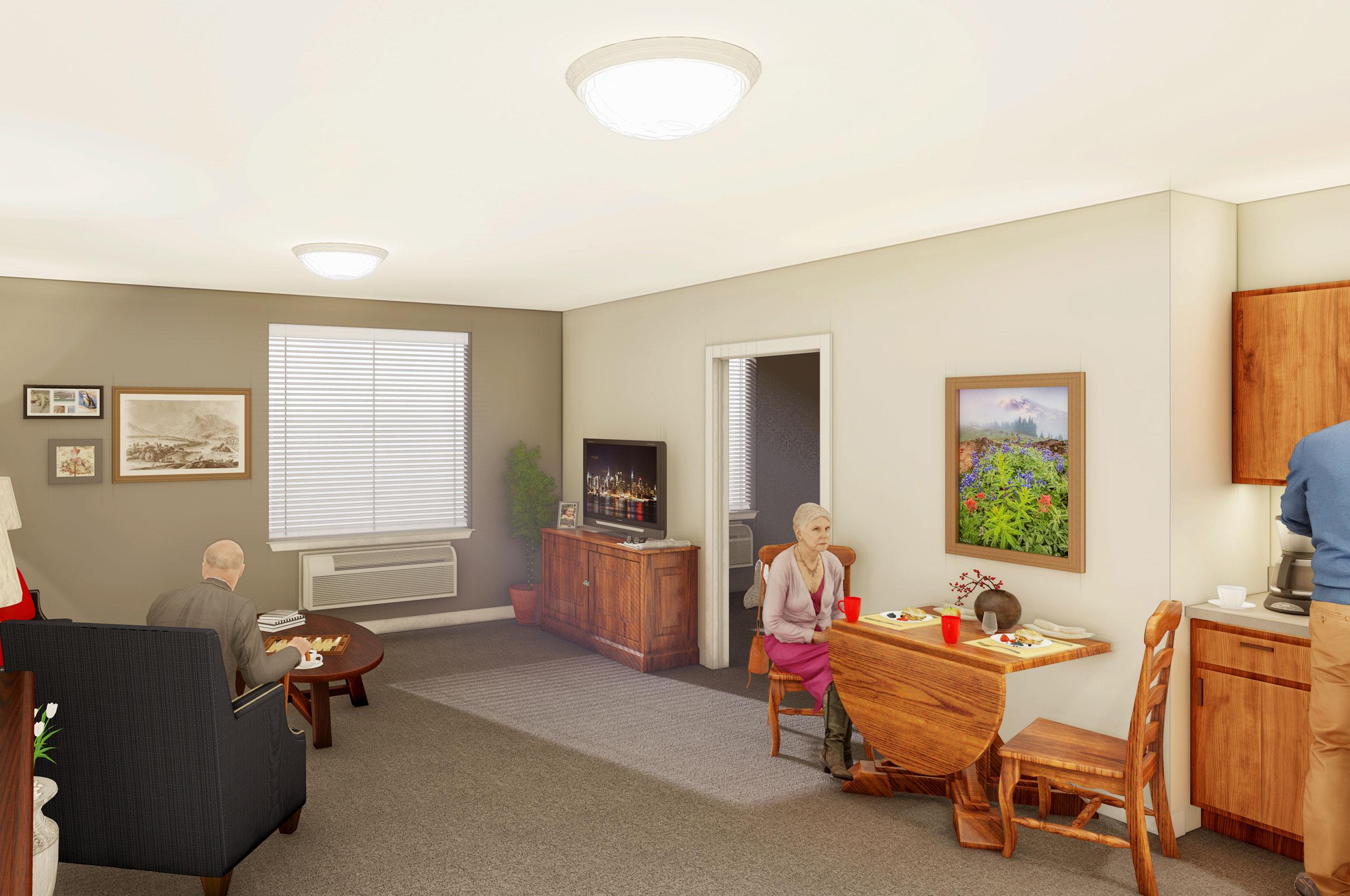 Model Room 1