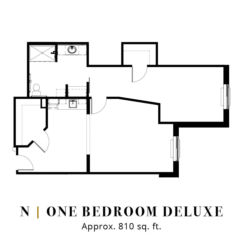 N | One Bedroom