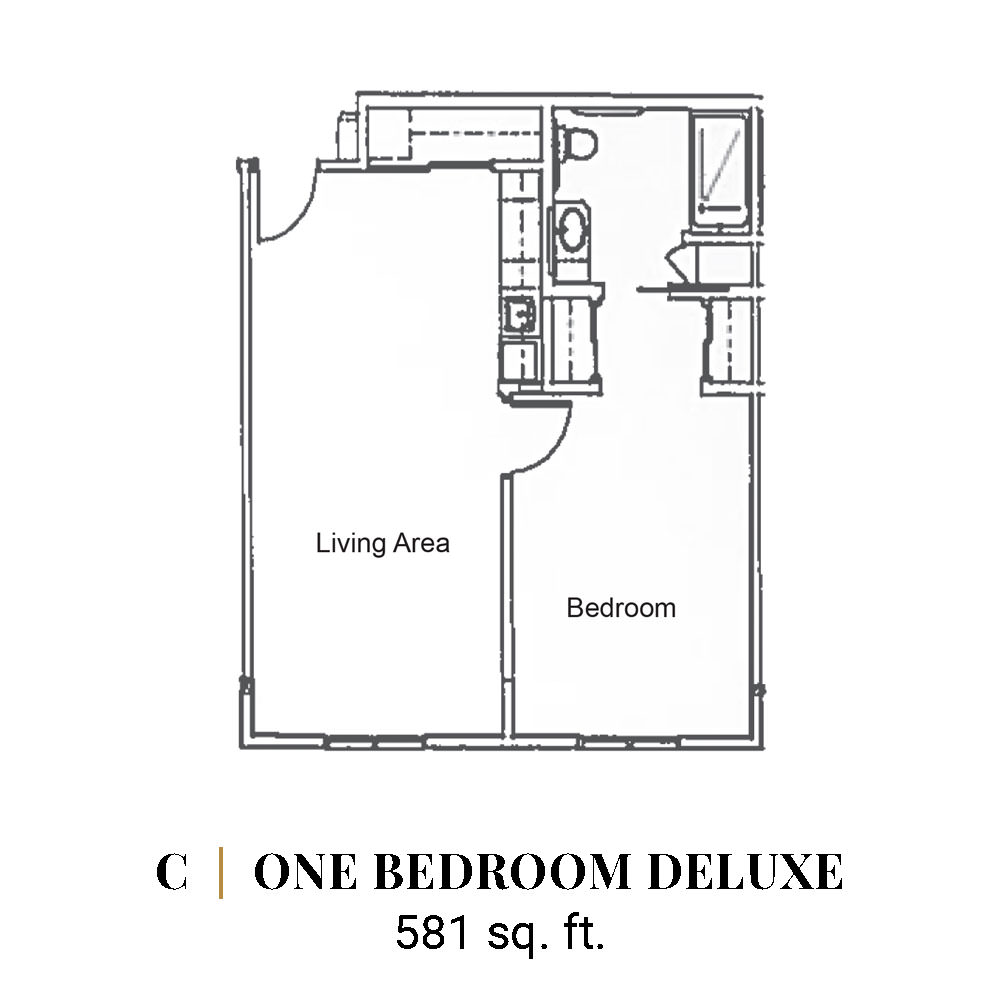 C | One Bedroom Deluxe