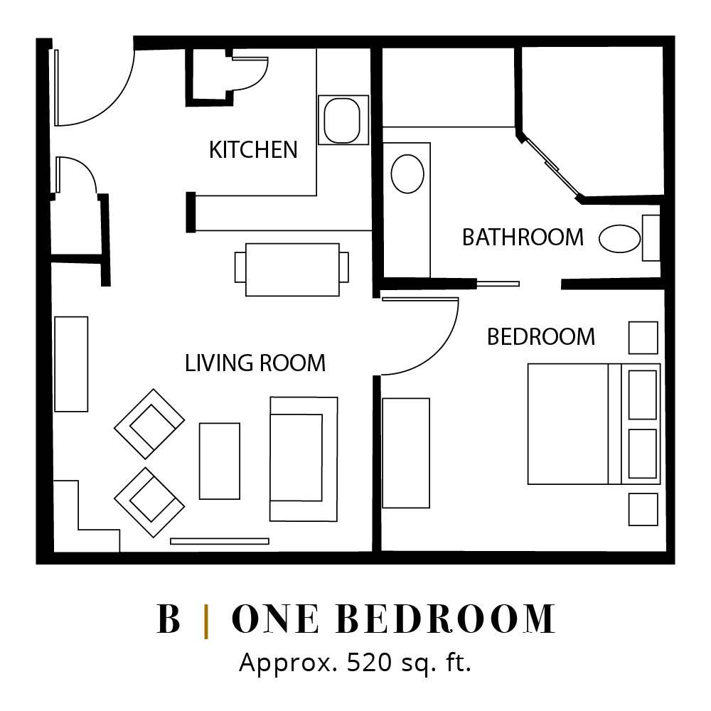 B | One Bedroom