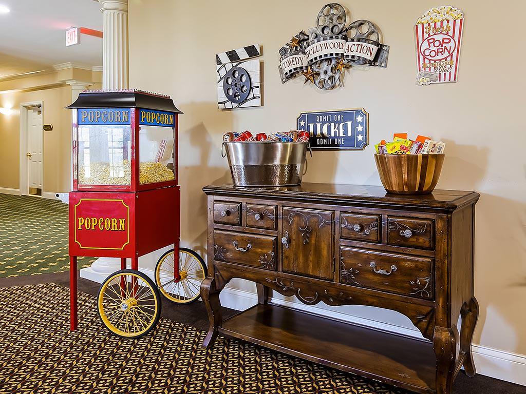 Common Room Popcorn Station