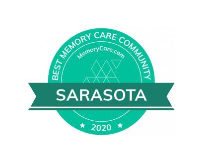 Sarasota Memory Care Badge
