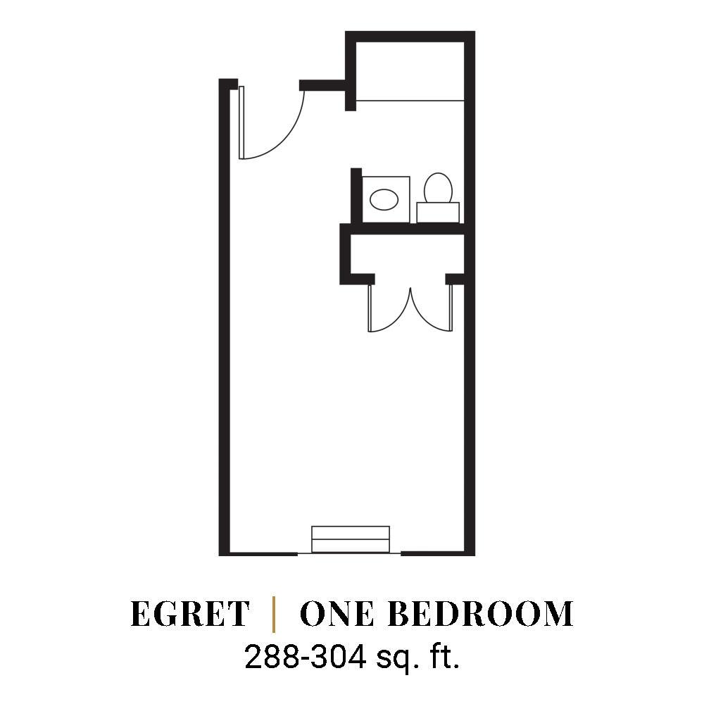 Egret | One Bedroom