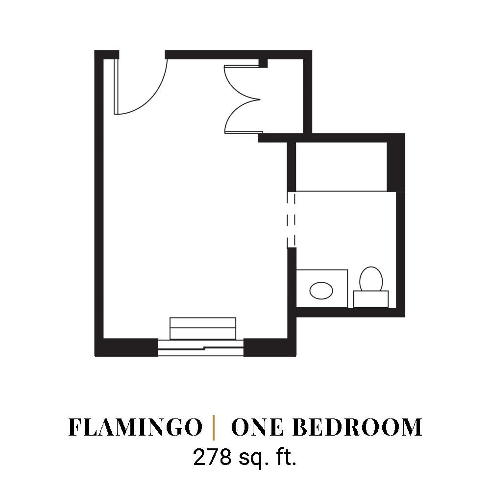 Flamingo | One Bedroom