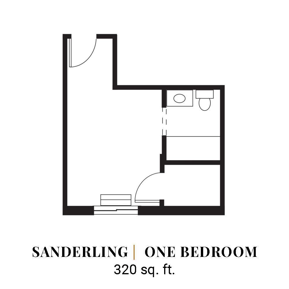 Sanderling | One Bedroom