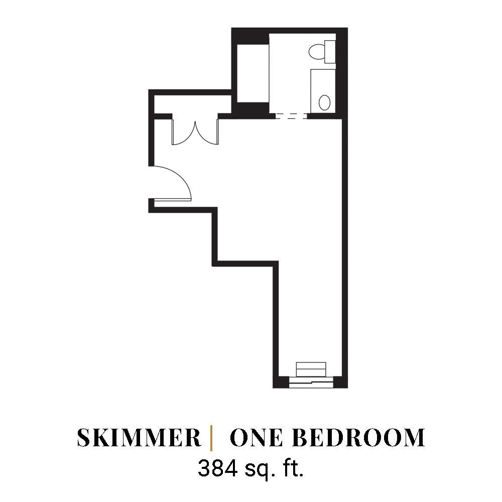 Skimmer | One Bedroom
