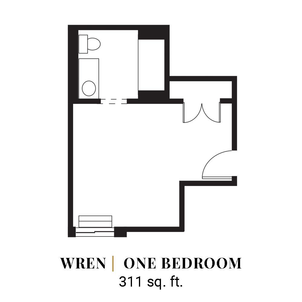 Wren | One Bedroom