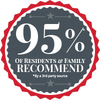 95 percent of families recommend Lakewood Ranch