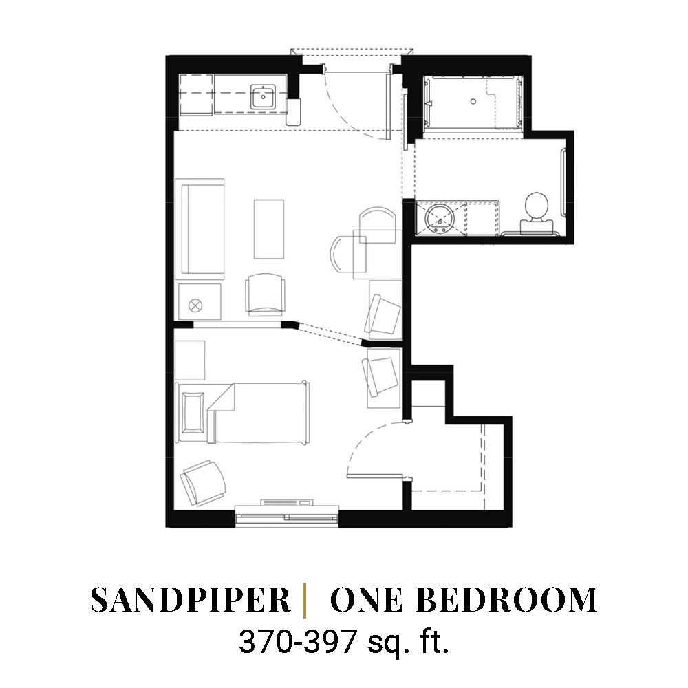 Sandpiper | One Bedroom