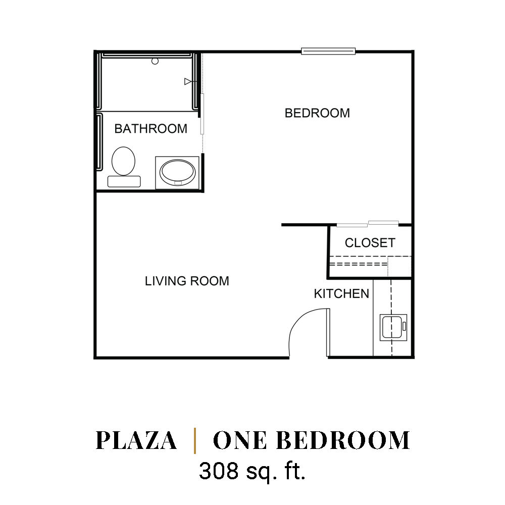Plaza | One Bedroom