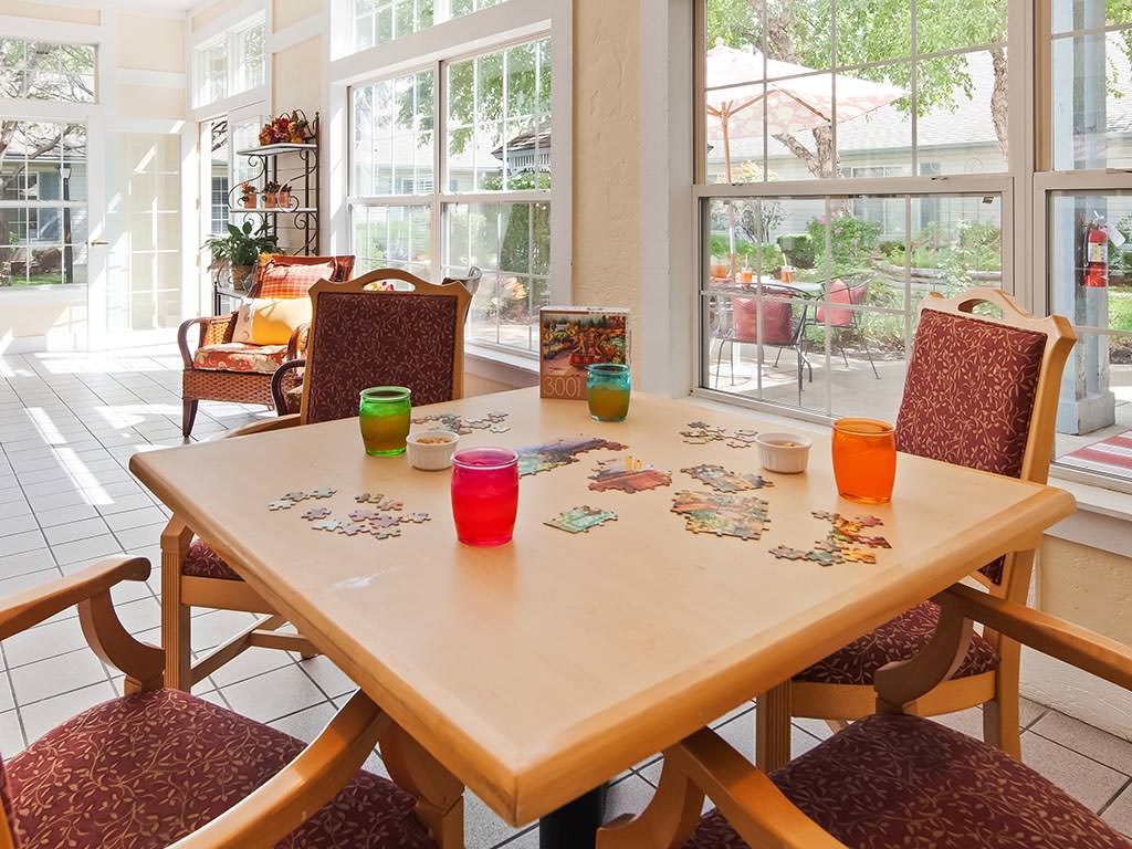 Sunroom Game Table