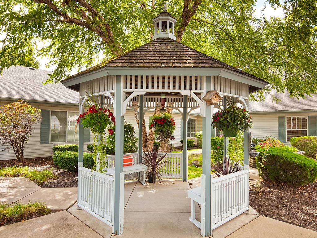 Outdoor Gazebo and Seating