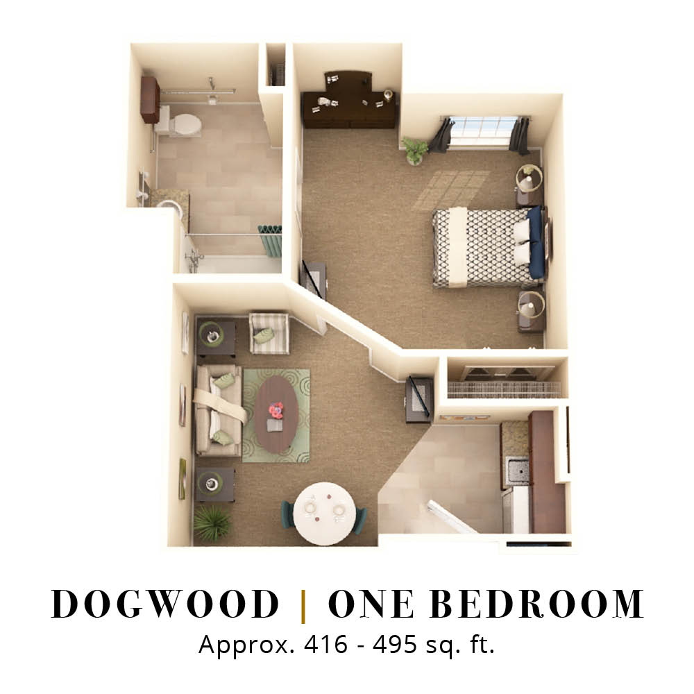 Dogwood | One Bedroom