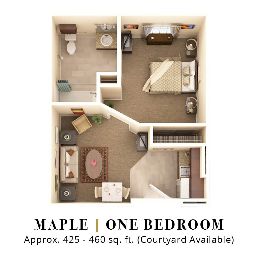 Maple | One Bedroom