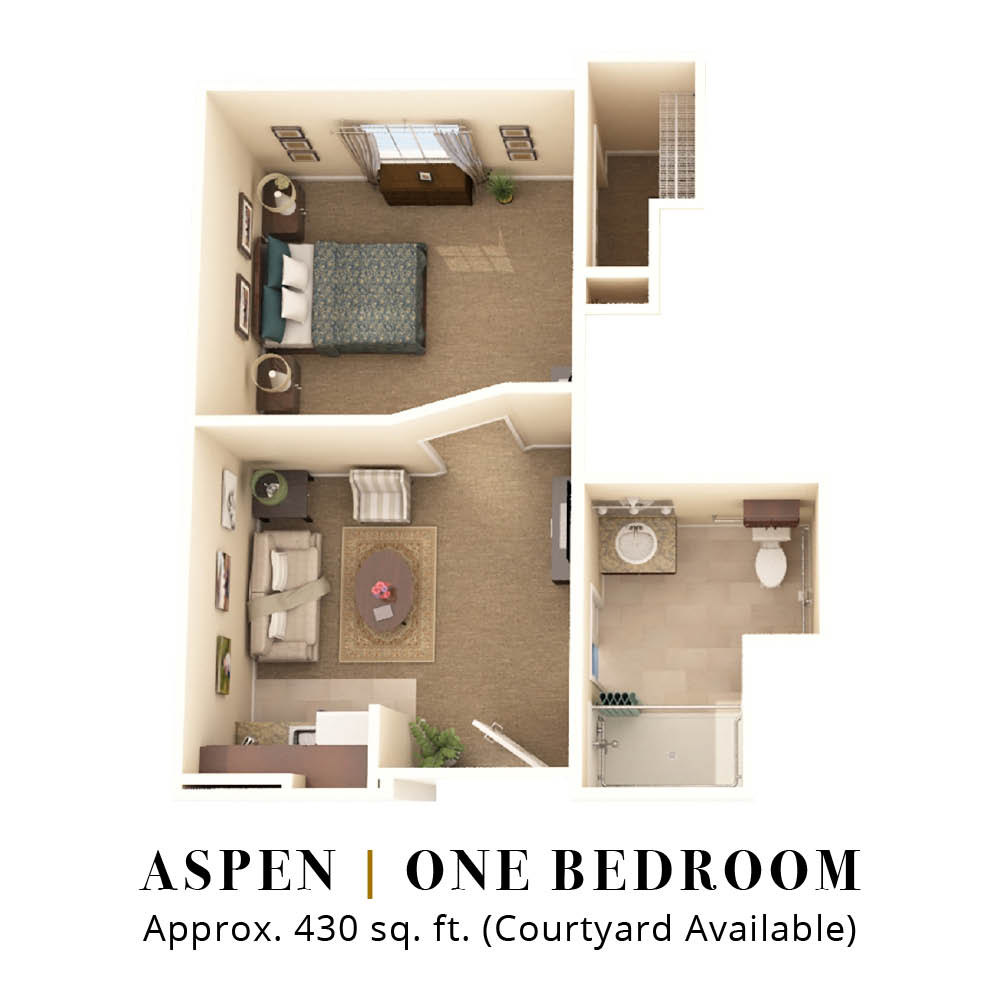 Aspen | One Bedroom