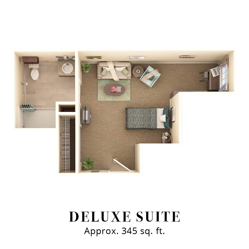 Deluxe Suite | Two Bedroom