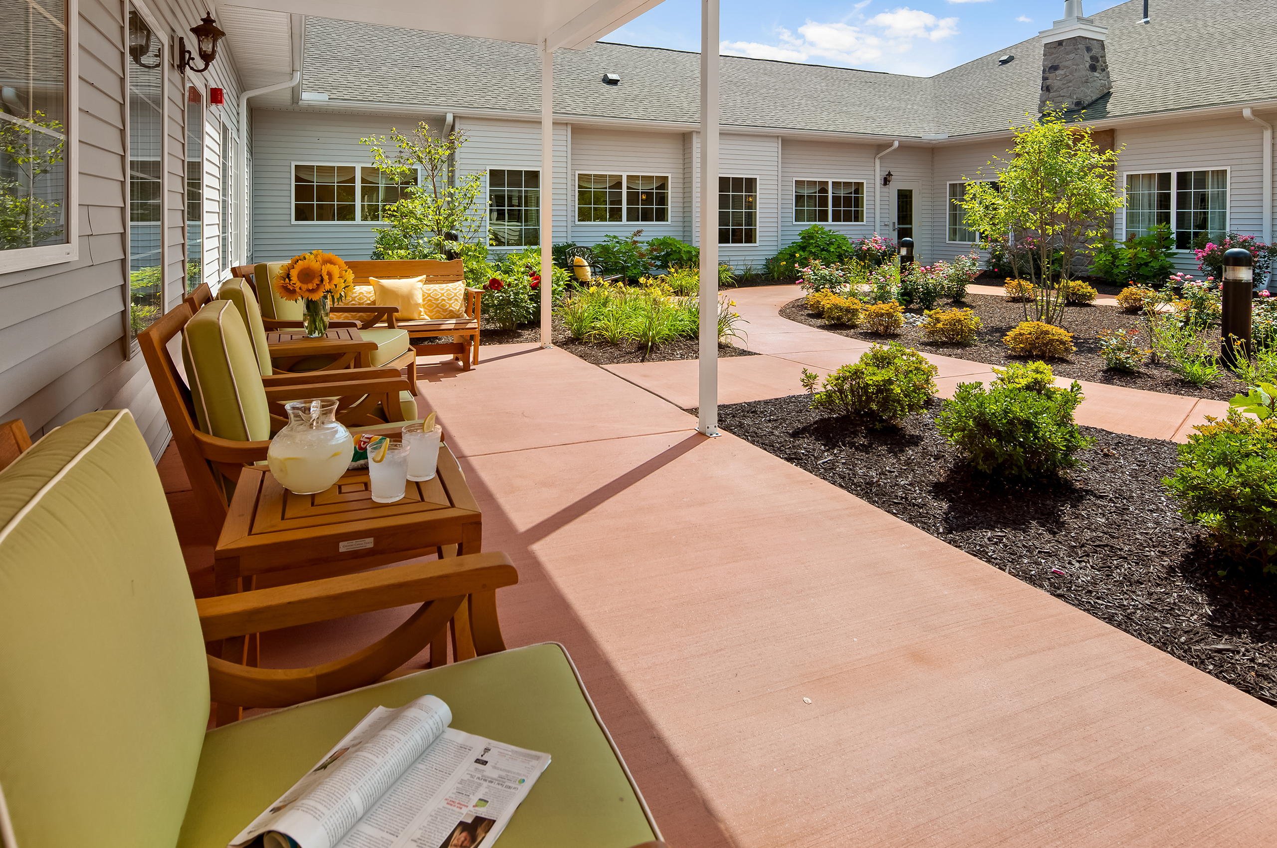 Outdoor Patio and Courtyard