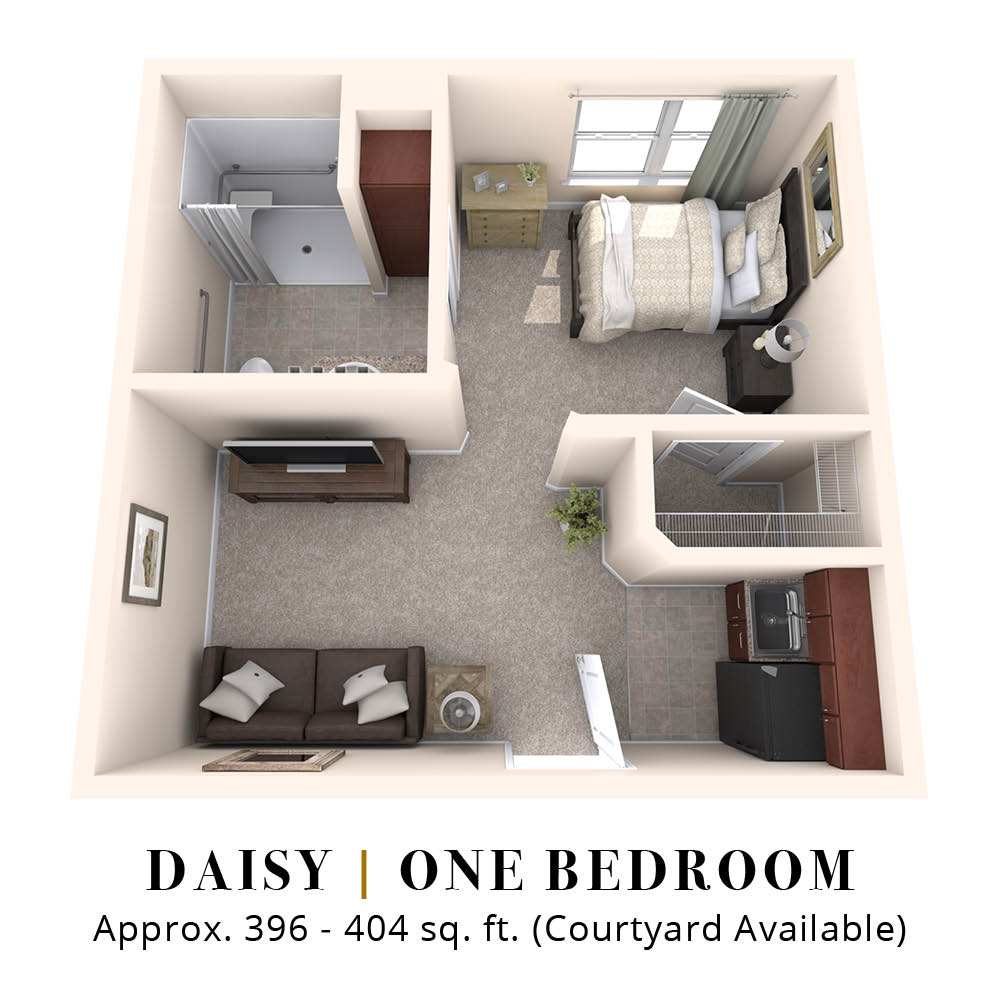 Daisy | One Bedroom