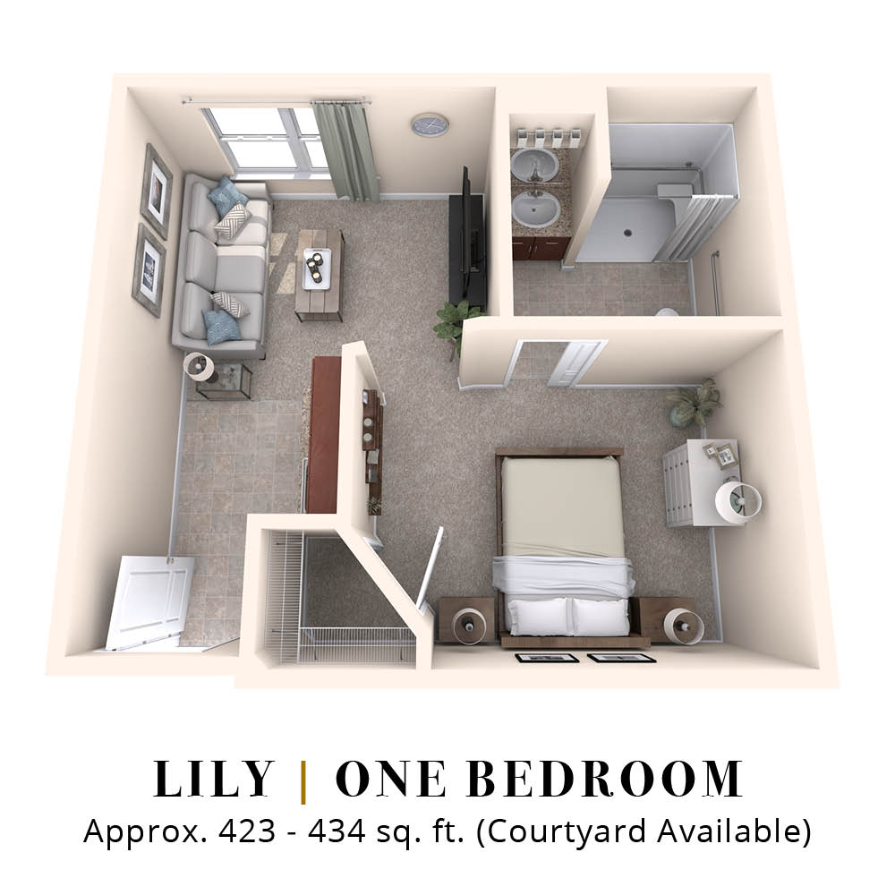 Lily | One Bedroom