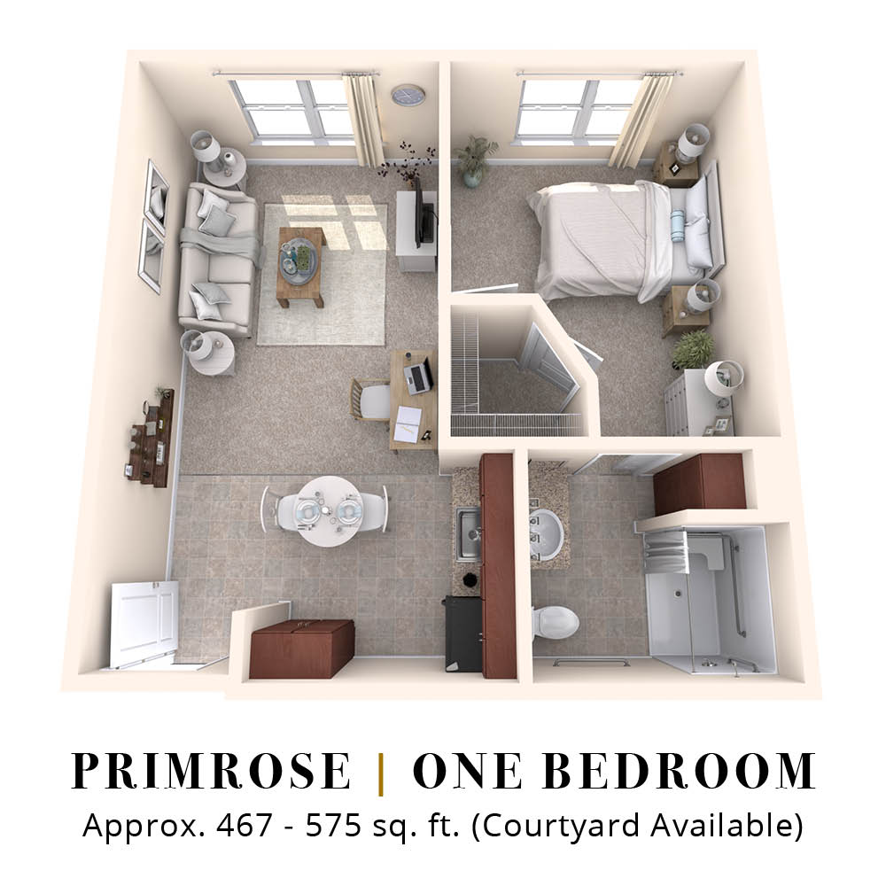 Primrose | One Bedroom