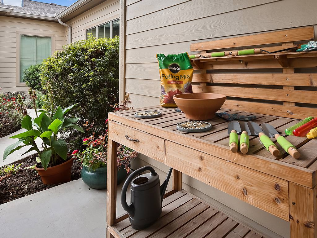 Outdoor Gardening Area