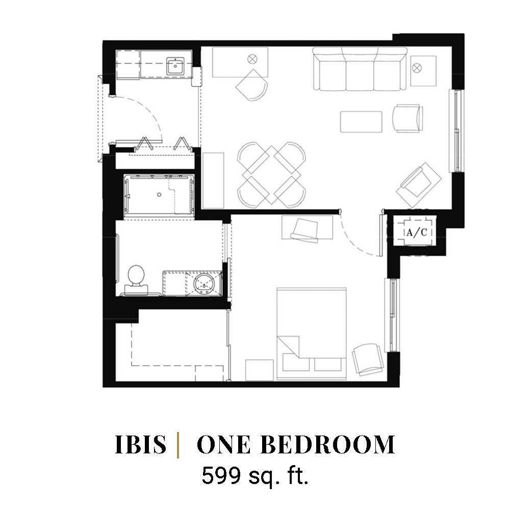 Iris | One Bedroom