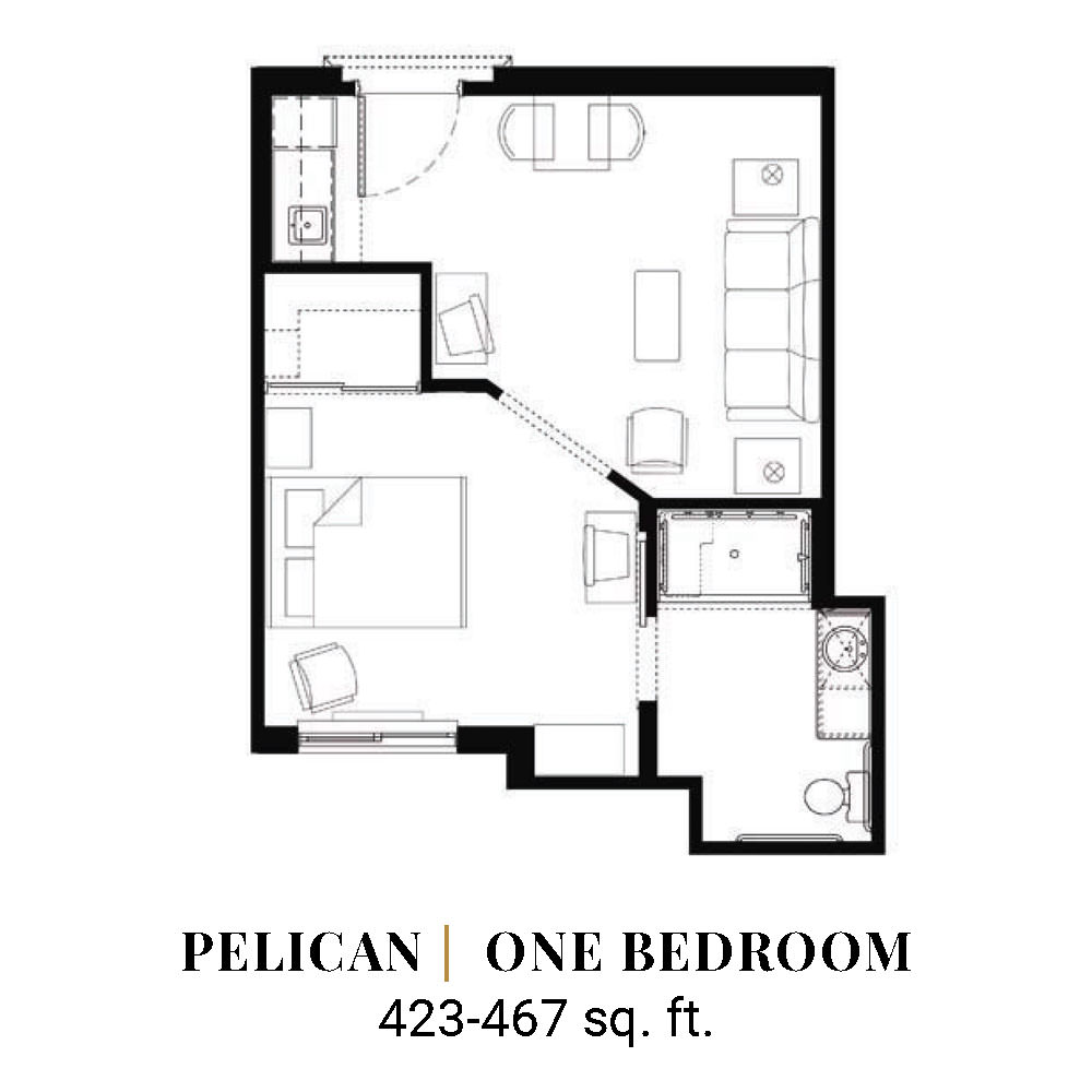 Pelican | One Bedroom
