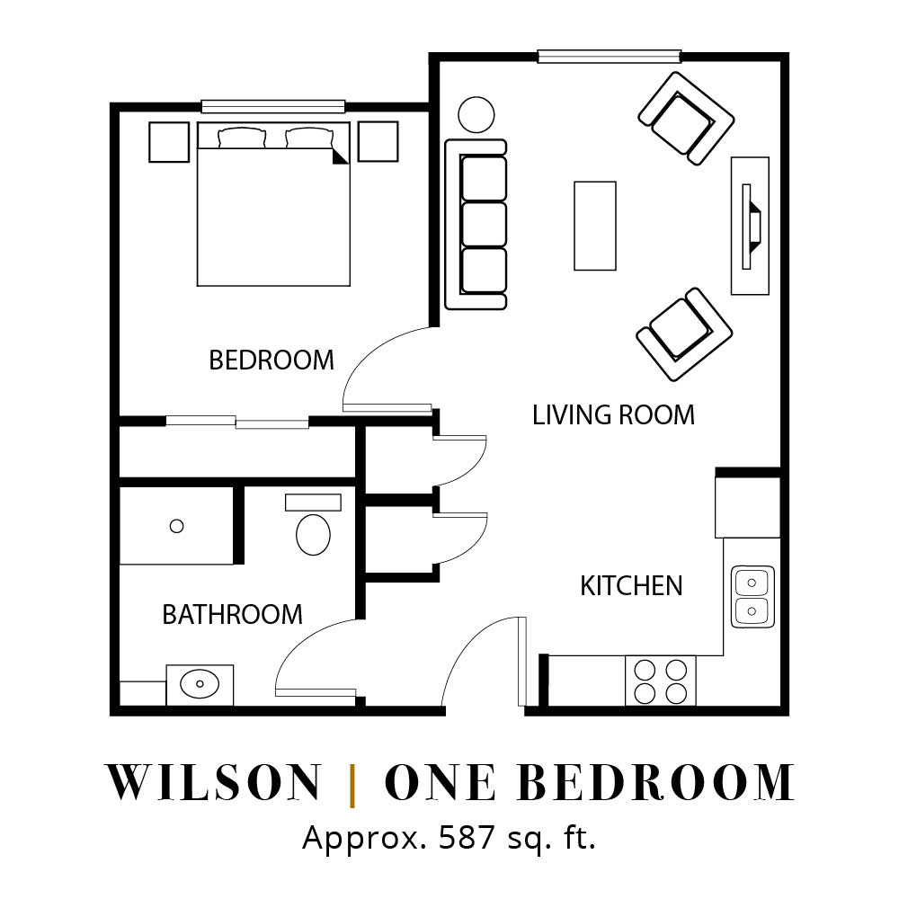 Wilson | One Bedroom