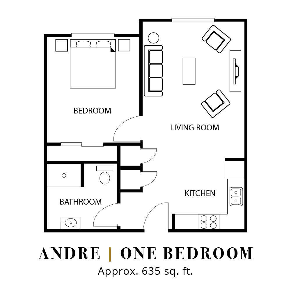 Andre | One Bedroom