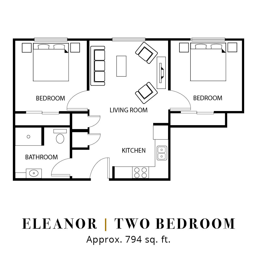 Eleanor | Two Bedroom