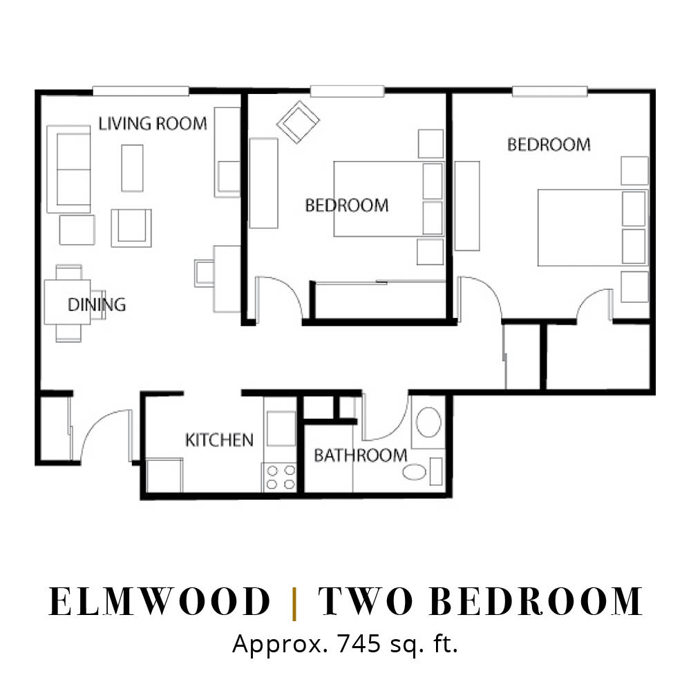 Elmwood | Two Bedroom
