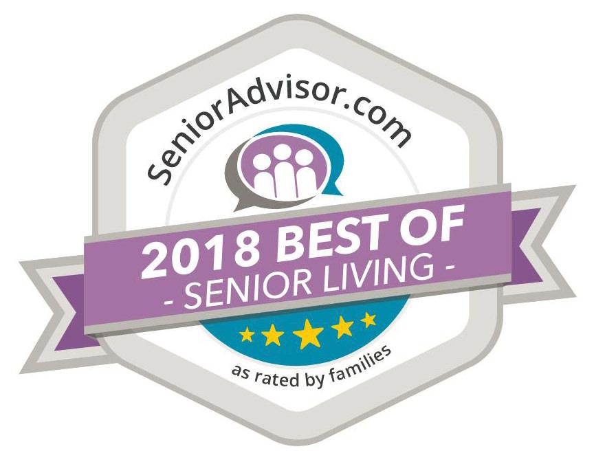 Regent Park Best of Award from senior advisor