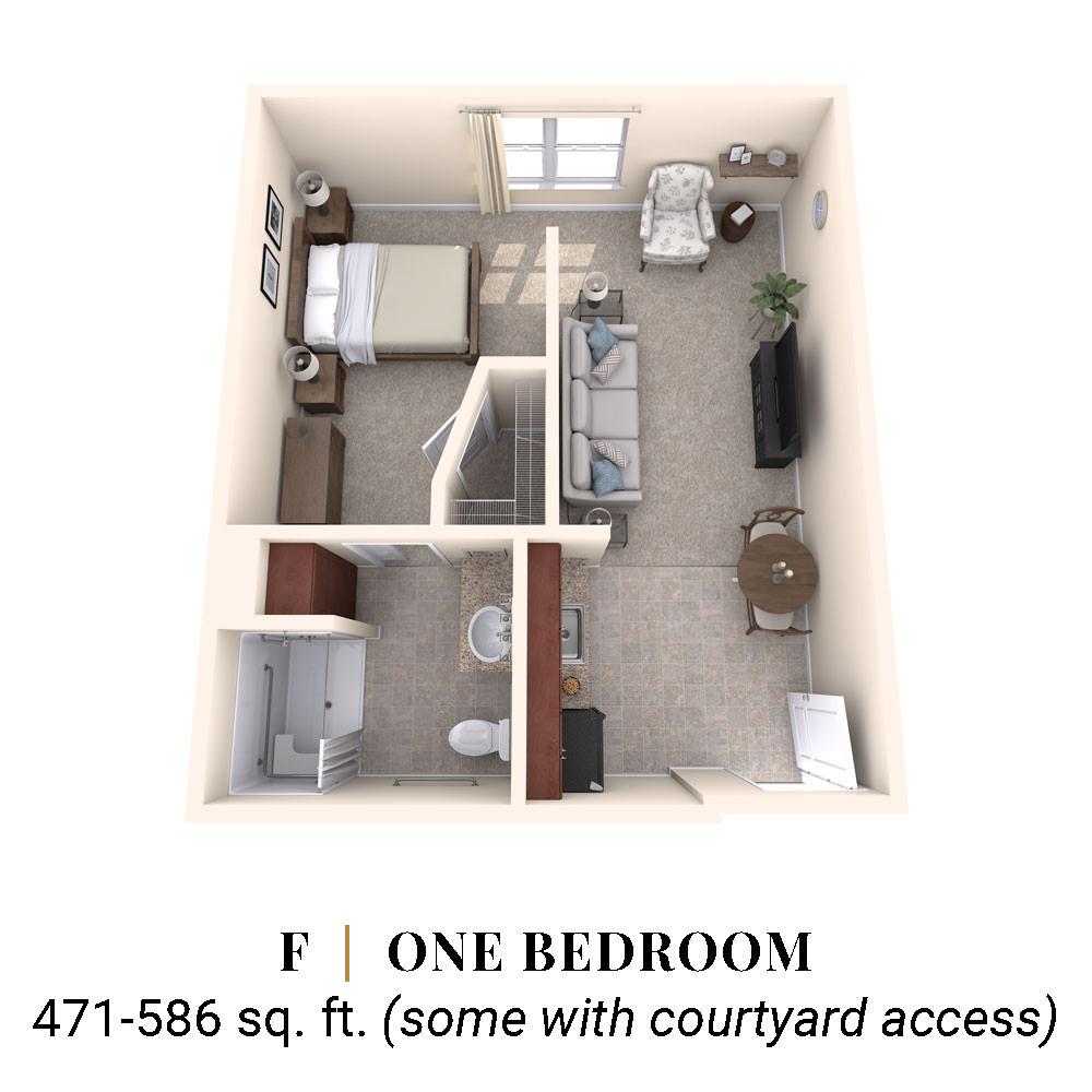 F   One Bedroom