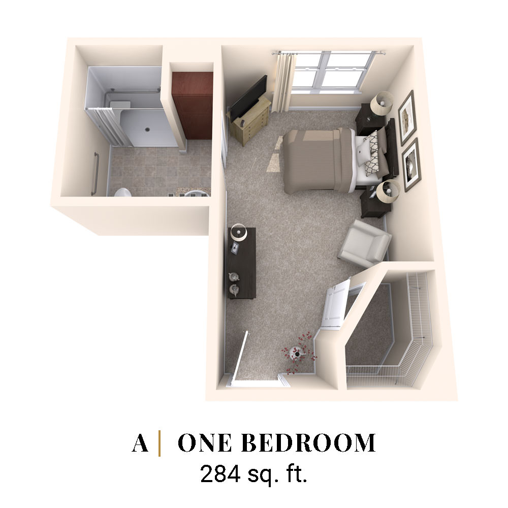 A   One Bedroom