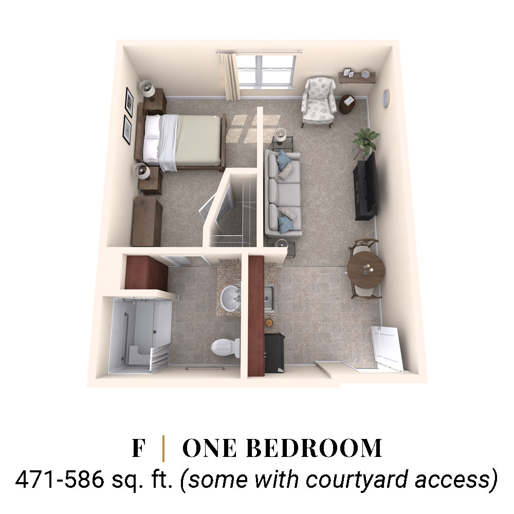 F | One Bedroom