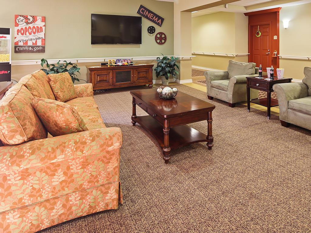 Assisted Living Casual Theatre Seating