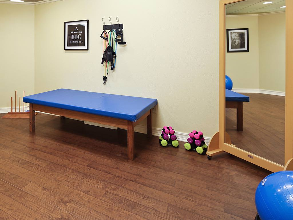 Assisted Living Gym and Physical Activity Area
