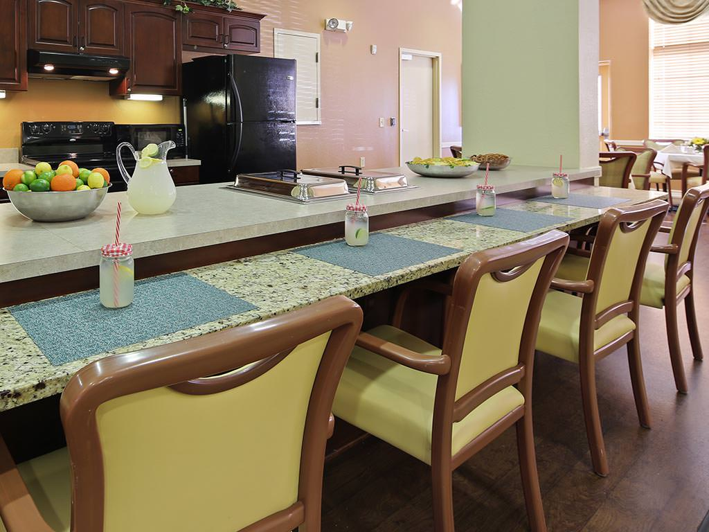 Assisted Living Kitchen and Snack Area