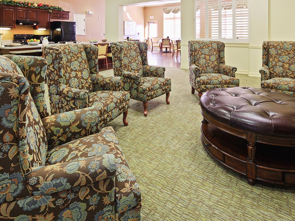 Assisted Living Casual Seating Area