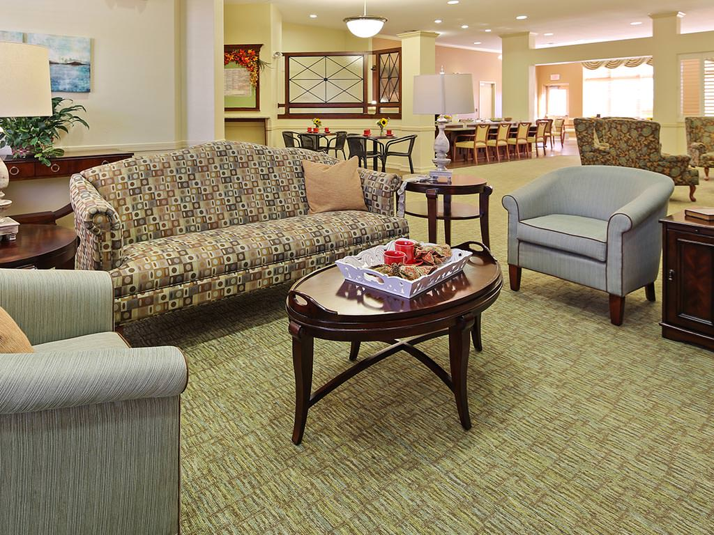 Assisted Living Common Room Seating