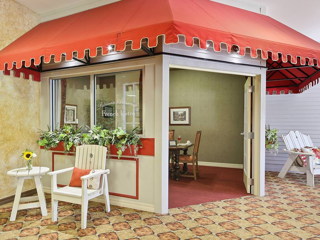 Assisted Living Private Dining Room